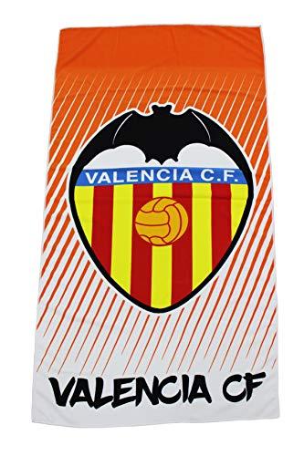 Valencia CF 01TOA06 Toalla, Naranja, Talla Única