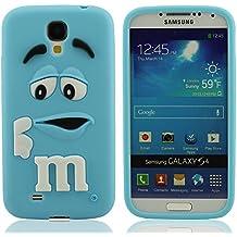 Silicona Prima Funda protector para Samsung Galaxy S4 i9500, Dibujos Animados Estilo 3D Modelado Carcasa para Samsung Galaxy S4, Samsung Galaxy S4 Case Cover, Vistoso Suave y Elástico Delgado