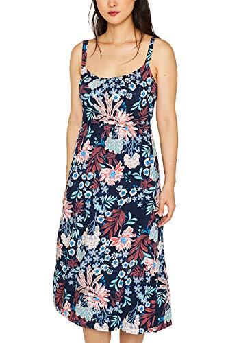 ESPRIT Träger-Kleid mit Blumen-Print (Blumen-print-kleid Frauen Für)