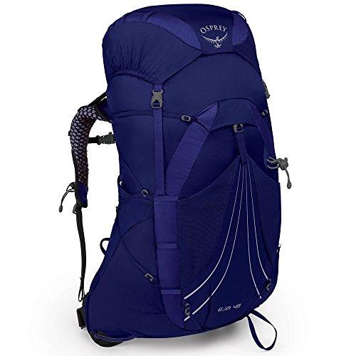 Osprey Eja 48 Women's Lightweight Hiking Pack - Equinox Blue (WS)