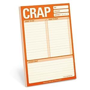Knock Knock 12244 Crap Pad