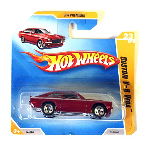 Preisvergleich Produktbild Hot Wheels Custom V-8 Vega rotmetallic 1:64