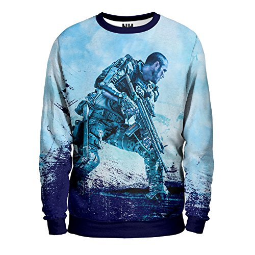 CALL OF DUTY - Shooter Sweatshirt Unisex - Videogiochi Videogame FPS Sparatutto