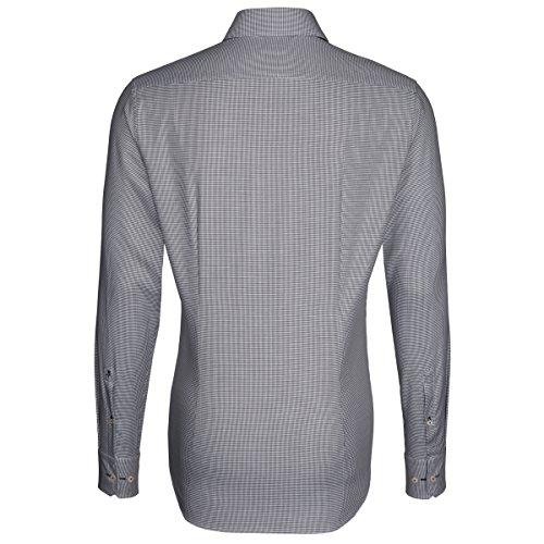 Seidensticker -  Camicia classiche  - A quadri - Classico  - Uomo Grau