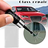 PerGrate Automotive Glass Repair Fluid, Windshield Repairing Resin Agent, Windshield Repair Kit,Cracked Glass Repair Kit