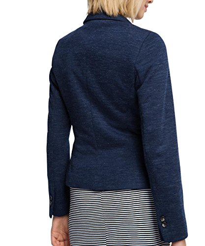 Esprit 016EE1G014 - Veste de tailleur - Manches longues - Femme Bleu (NAVY 3 402)