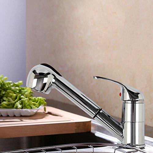 MultiWare Wasserhahn Armatur Einhebelmischer Spültischarmatur Mit Brause Küche