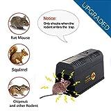 T-Raputa piège à Souris Professionnel -utilisé pour capturer des Souris intérieures et extérieures, des Rats, des Insectes nuisibles,contrôle des piègeselectronique Professionnels pour Les rongeurs