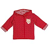 SALT AND PEPPER Baby-Mädchen Jacke BG Jacket Allover reves, Rot (Cherry Red 352), 62