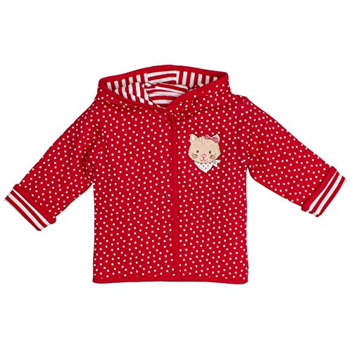SALT AND PEPPER Baby-Mädchen Jacke BG Jacket Allover Reves, Rot (Cherry Red 352), 68 (Jacke Cherry Mädchen)