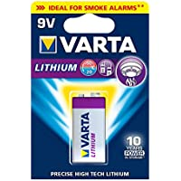 VARTA Lithium - Pila Litio 9 V (pack 1)