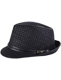 Amazon.it  Nero - Cappelli Panama   Cappelli e cappellini  Abbigliamento bdbfb637d476