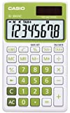 Casio SL-300NC - calculators (Pocket, Display calculator, Green, Plastic, Buttons, Not available)