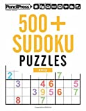 500+ Sudoku Puzzles Easy: Sudoku Puzzle Book easy (with answers)