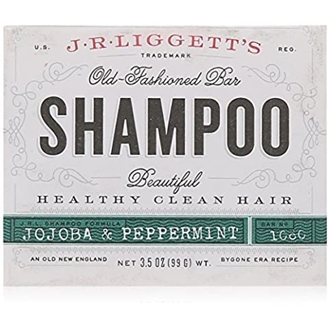 Shamp Bar, Jojobaand Peppermint, 3.5 oz (12-Pack) by J.R. LIGGETT'S