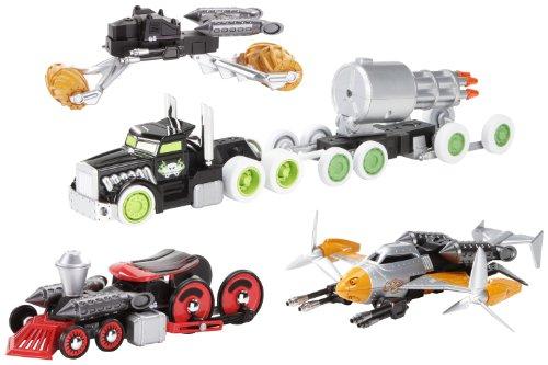 Hot Wheels - V1772 - Véhicule Miniature et Circuit - Custom Motors - Attaque Furtive