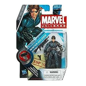 MARVEL UNIVERSE WINTER SOLDIER 9.5cm FIGURINE