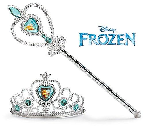 Elsa Wand & Tiara Set (Let It Go Elsa Kostüm)