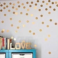 Kingko® Beautiful Nordic Style Tupfen Wandaufkleber Baby Kinderzimmer  Aufkleber Kind Kind Wand Abziehbild Vinyl Kunst