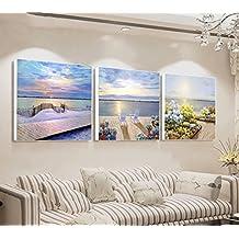 MAX Home@ Sala de Estar Moderna Dormitorio Dormitorio Pintura de decoración Triple Pintura Pintura sin