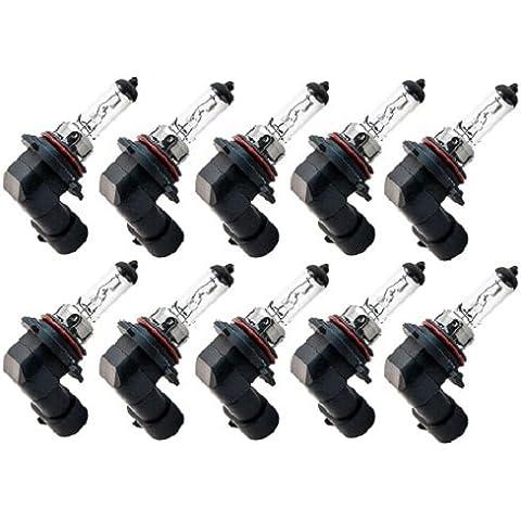 Cec Industries, Inc , 10Pack - 9006 12 V 55 W Bombilla halógena para faros delanteros Automotive bombilla
