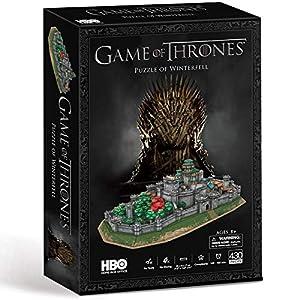 Paul Lamond- Game of Thrones Juego de Tronos Winterfell Puzzle 3D, Multicolor (7455) 12