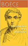La consolation de la philosophie - Format Kindle - 1,62 €
