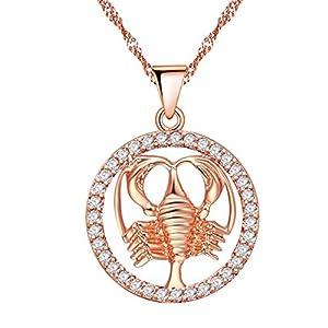 Uloveido Goldene Konstellation Anhänger Halskette N1047