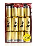 Robin Reed-Musical Deluxe-Sonnette de luxe pour table de Noël Boîte de 8 Crackers