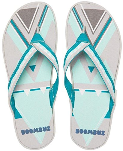 Boombuz  Lolla dressed,  Infradito donna Light Grey / Blue-Grey