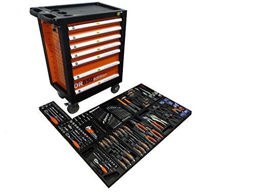 Bensontools Werkstattwagen gefüllt mit Werkzeug, 1 Stück, 10603
