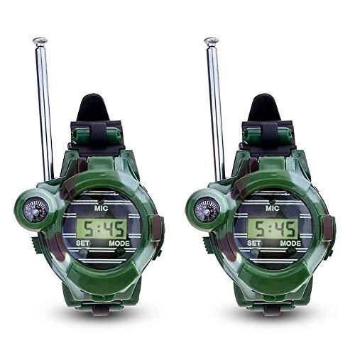 Yililay Radio Reloj 2 PCS portátil para los niños...