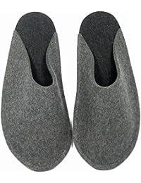 Chaussons Pantoufles de Clients invités pliables avec/sans ABS unisexe adulte