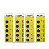 Varta 6032 Batterie Ecopack CR2032 Lithium Knopfzelle (3V, 20-er Pack) in original 5-er Blisterverpackung