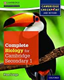 Complete Biology for Cambridge Secondary 1 Student Book: For Cambridge Checkpoint and beyond
