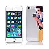 Coque pour Coque Princesses Blanc Neige iPhone 5 / 5S / Se Blanche-Neige