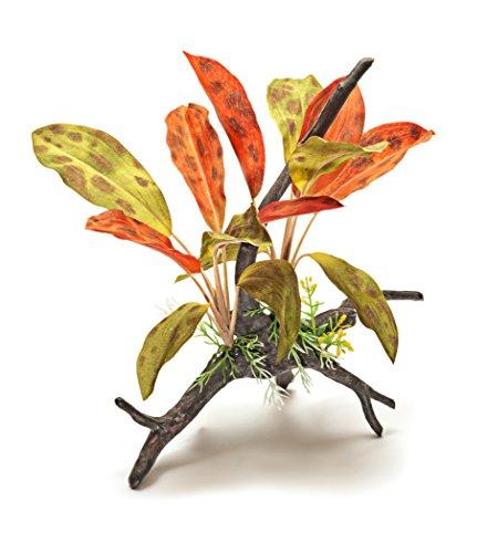 Pistachio Pet Schöne Realistische Aquarium Pflanze auf Wurzel 30,5cm/30cm hoch. New für 2017. - Realistische Aquarium Pflanzen