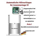 JOSTechnik elektronischer Pförtner JT-HK mit Außenlichtsensor für Innenmontage +Klappe vom Hersteller