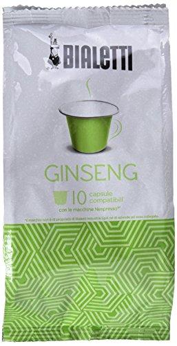 Bialetti 97000005 Nespresso-Kapseln Gingseng, 10 Stück