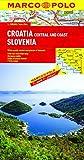 Croatia / Slovenia Marco Polo Map (Marco Polo Maps)