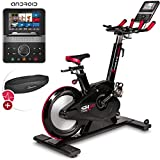 Sportstech SX600 Elite Indoor Cycle Bike mit Smarter Android Konsole,...