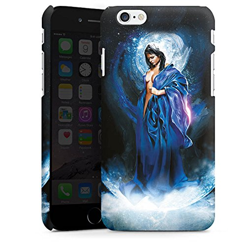 Apple iPhone X Silikon Hülle Case Schutzhülle Frau Mädchen Universum Premium Case matt