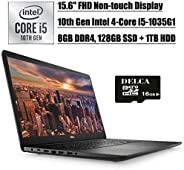 "Dell Inspiron 15 3593 2020 Newest Business Laptop, 15.6"" FHD Non-Touch Display, 10th Gen Intel 4-Core i5-"