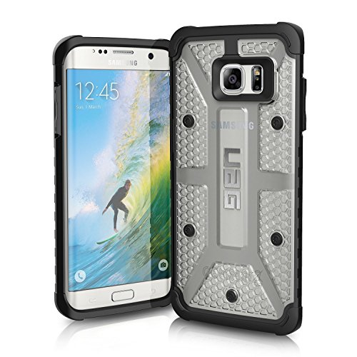 URBAN ARMOR GEAR Cell Phone Case for Samsung Galaxy S7 Edge, Ice  available at amazon for Rs.2490