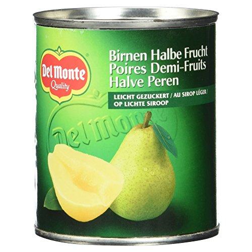 Del Monte Birnen Halbe Frucht gezuckert, 227 g (Gezuckerte Künstliche Früchte)