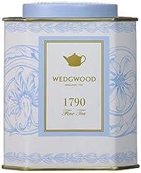 Wedgwood A Taste of History 1790 Arabesque Caddy, 100g, Blue