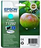 Epson C13T12924011 Cartuccia Inkjet Ink Pigmentato Blister, Ciano