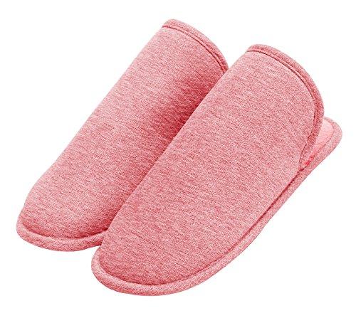 Pantofole Urbancoco Unisex Calde Pantofole Pantofola Pantofola Interna Rosa