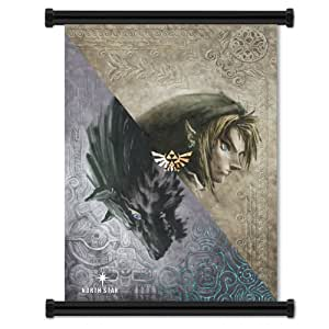 Legend of Zelda Twilight Princess Game Fabric Wall Scroll Poster (32 x 42) Inches