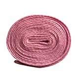Good.news Lacets Plats, Lacets de Sport, Lacets de Chaussure Rose 140cm